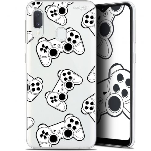 "Carcasa Gel Extra Fina Samsung Galaxy A20E (5.8"") Design Game Play Joysticks"