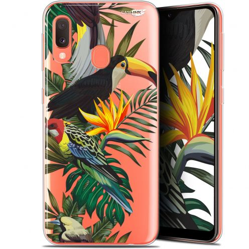 "Carcasa Gel Extra Fina Samsung Galaxy A20E (5.8"") Design Toucan Tropical"