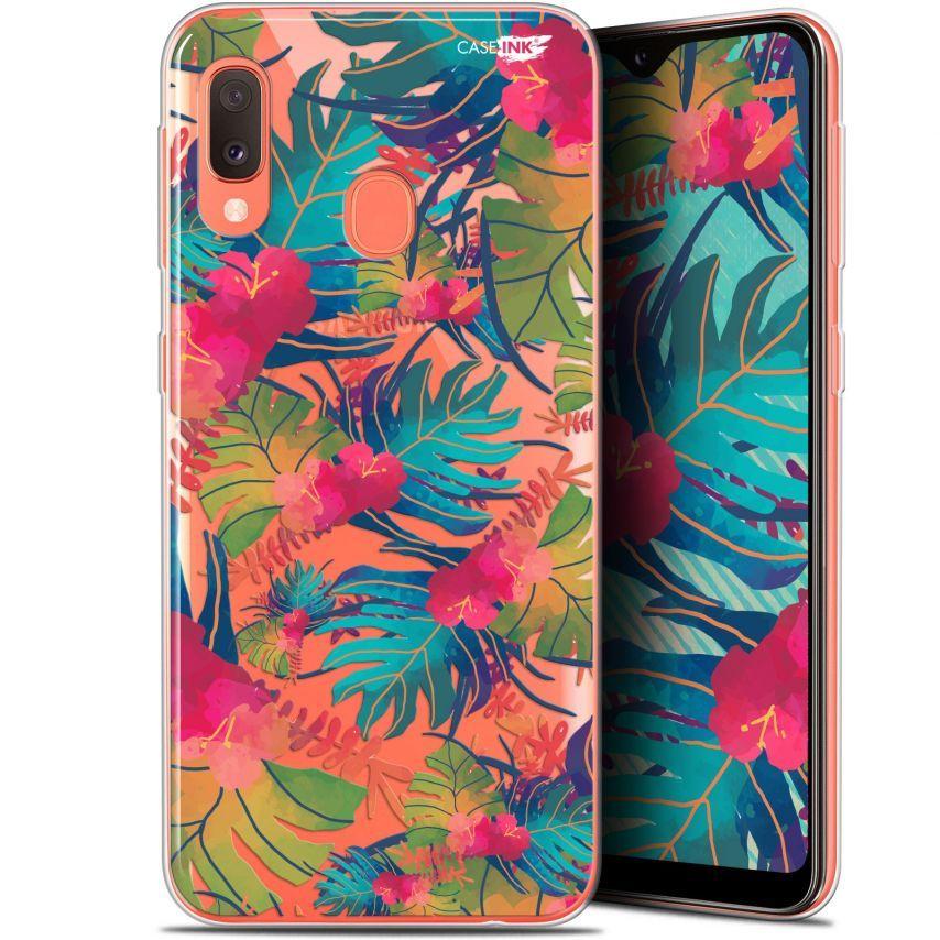 "Carcasa Gel Extra Fina Samsung Galaxy A20E (5.8"") Design Couleurs des Tropiques"