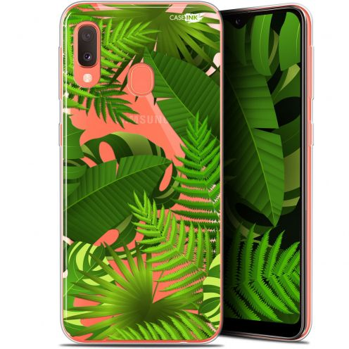 "Carcasa Gel Extra Fina Samsung Galaxy A20E (5.8"") Design Plantes des Tropiques"