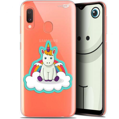 """Carcasa Gel Extra Fina Samsung Galaxy A20E (5.8"""") Design Bébé Licorne"""