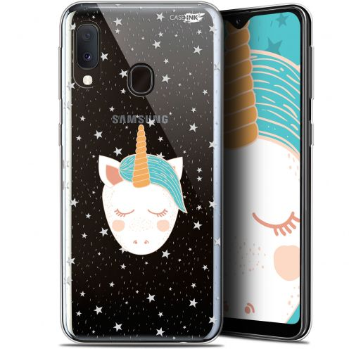 """Carcasa Gel Extra Fina Samsung Galaxy A20E (5.8"""") Design Licorne Dors"""