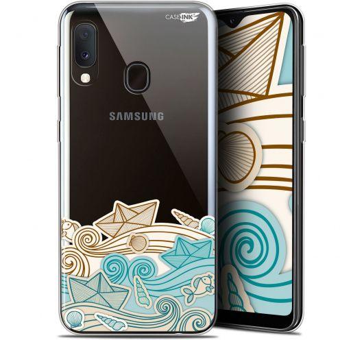 "Carcasa Gel Extra Fina Samsung Galaxy A20E (5.8"") Design Bateau de Papier"