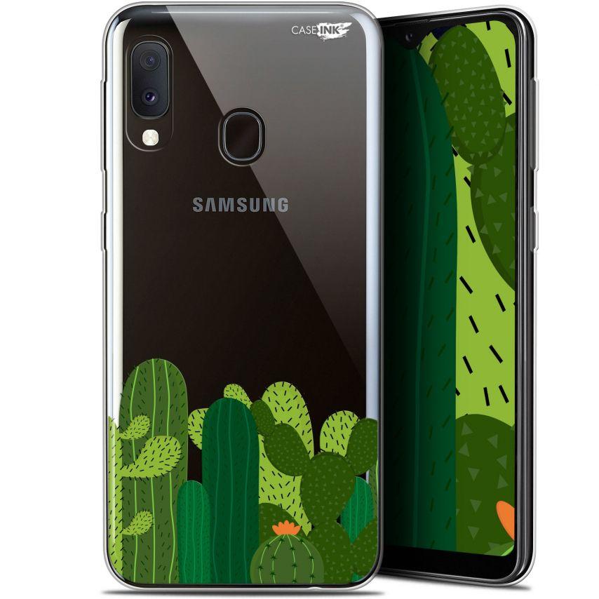 """Carcasa Gel Extra Fina Samsung Galaxy A20E (5.8"""") Design Cactus"""