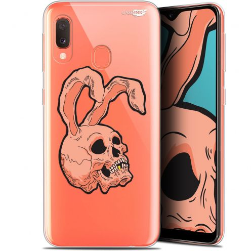 "Carcasa Gel Extra Fina Samsung Galaxy A20E (5.8"") Design Rabbit Skull"