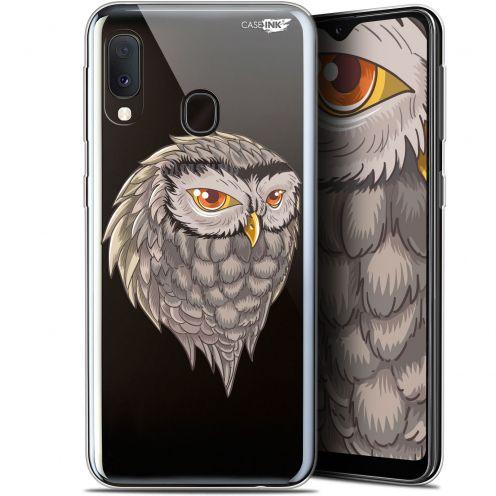 "Carcasa Gel Extra Fina Samsung Galaxy A20E (5.8"") Design Hibou Draw"
