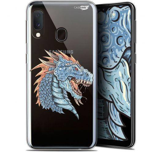 "Carcasa Gel Extra Fina Samsung Galaxy A20E (5.8"") Design Dragon Draw"