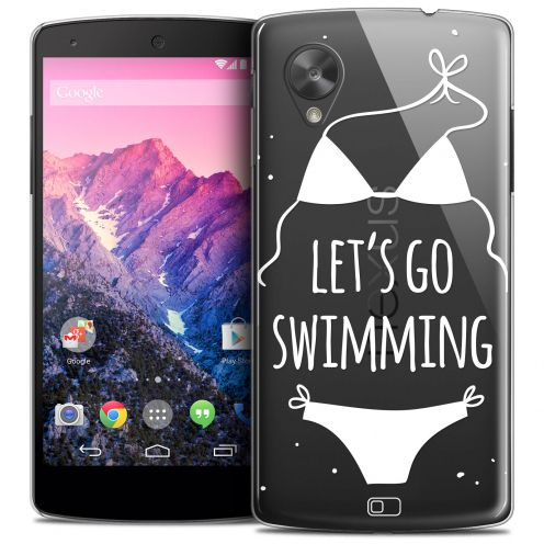 Carcasa Crystal Extra Fina Nexus 5 Summer Let's Go Swim