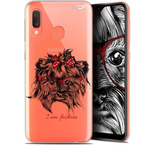 "Carcasa Gel Extra Fina Samsung Galaxy A20E (5.8"") Design Fashion Dog"