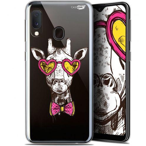 "Carcasa Gel Extra Fina Samsung Galaxy A20E (5.8"") Design Hipster Giraffe"