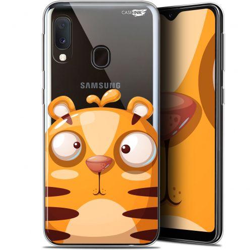 "Carcasa Gel Extra Fina Samsung Galaxy A20E (5.8"") Design Cartoon Tiger"