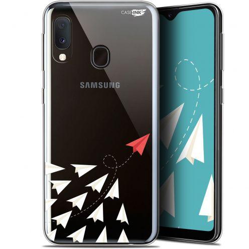 """Carcasa Gel Extra Fina Samsung Galaxy A20E (5.8"""") Design Papier Volant"""