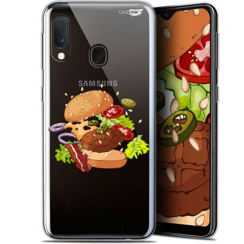"Carcasa Gel Extra Fina Samsung Galaxy A20E (5.8"") Design Splash Burger"