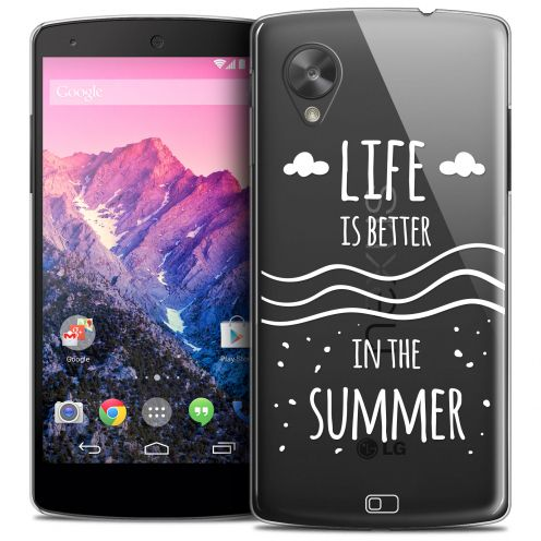 Carcasa Crystal Extra Fina Nexus 5 Summer Life's Better