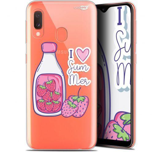 """Carcasa Gel Extra Fina Samsung Galaxy A20E (5.8"""") Design Milky Summer"""