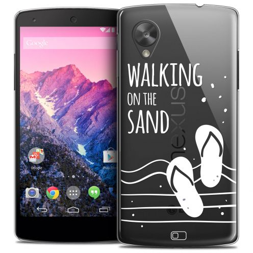 Carcasa Crystal Extra Fina Nexus 5 Summer Walking on the Sand