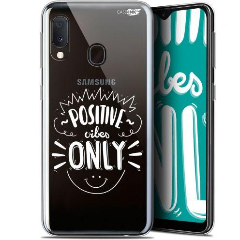 """Carcasa Gel Extra Fina Samsung Galaxy A20E (5.8"""") Design Positive Vibes Only"""