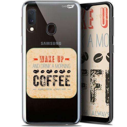 "Carcasa Gel Extra Fina Samsung Galaxy A20E (5.8"") Design Wake Up With Coffee"