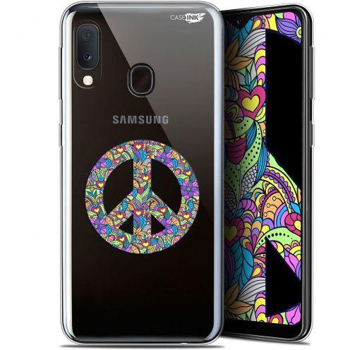 "Carcasa Gel Extra Fina Samsung Galaxy A20E (5.8"") Design Peace And Love"