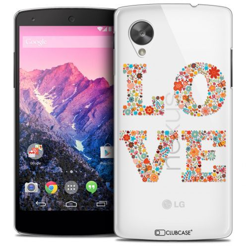 Carcasa Crystal Extra Fina Nexus 5 Summer Love Flowers