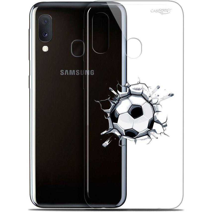 """Carcasa Gel Extra Fina Samsung Galaxy A20E (5.8"""") Design Le Balon de Foot"""