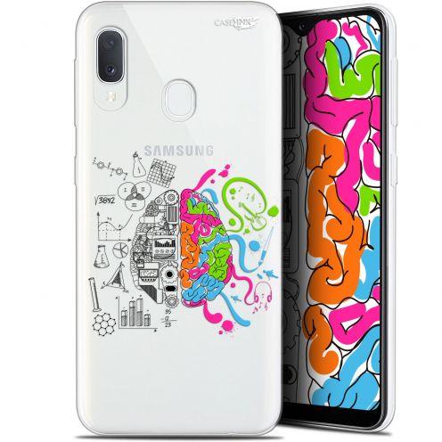 "Carcasa Gel Extra Fina Samsung Galaxy A20E (5.8"") Design Le Cerveau"
