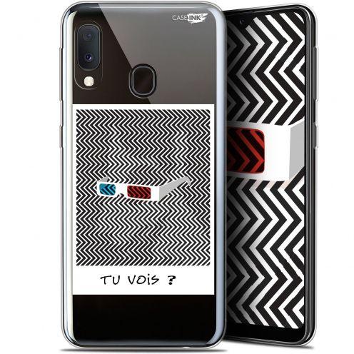 """Carcasa Gel Extra Fina Samsung Galaxy A20E (5.8"""") Design Tu Vois ce que Je Vois ?"""