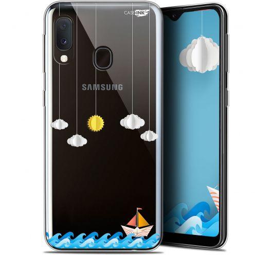 "Carcasa Gel Extra Fina Samsung Galaxy A20E (5.8"") Design Petit Bateau en Mer"