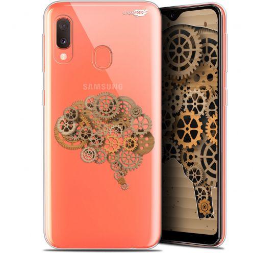 """Carcasa Gel Extra Fina Samsung Galaxy A20E (5.8"""") Design Mécanismes du Cerveau"""