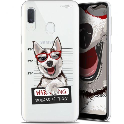 "Carcasa Gel Extra Fina Samsung Galaxy A20E (5.8"") Design Beware The Husky Dog"