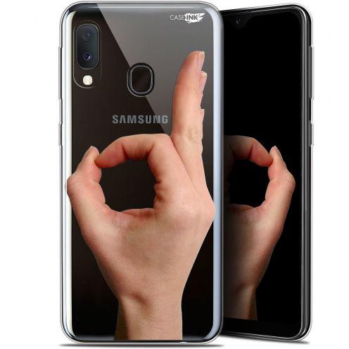 "Carcasa Gel Extra Fina Samsung Galaxy A20E (5.8"") Design Le Jeu du Rond"