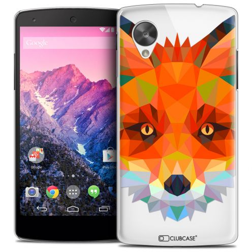 Carcasa Crystal Extra Fina Nexus 5 Polygon Animals Zorro