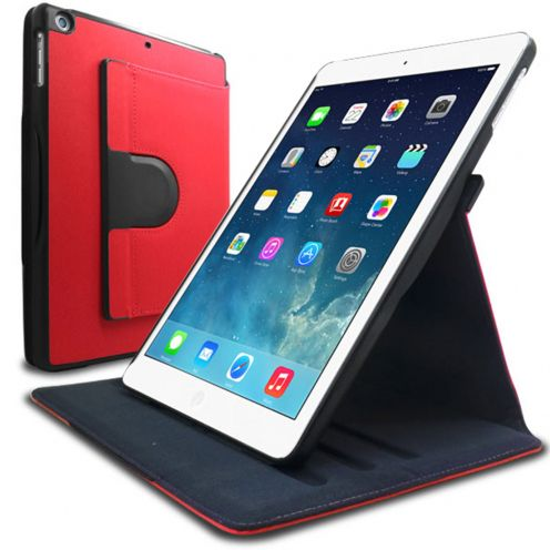 Carcasa iPad Air rotative 360° Club Roja
