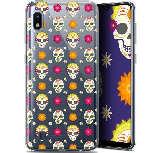 """Carcasa Gel Extra Fina Samsung Galaxy A10 (6.2"""") Halloween Skull Halloween"""