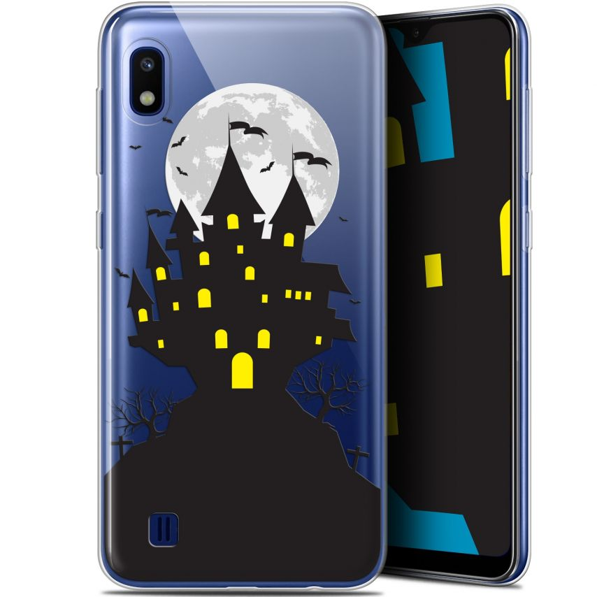 "Carcasa Gel Extra Fina Samsung Galaxy A10 (6.2"") Halloween Castle Scream"