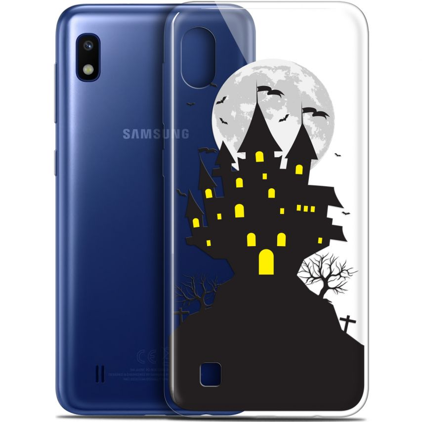 "Carcasa Gel Extra Fina Samsung Galaxy A10 (6.2"") Halloween Castle Scream"