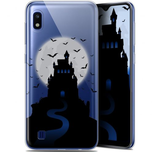 "Carcasa Gel Extra Fina Samsung Galaxy A10 (6.2"") Halloween Castle Nightmare"