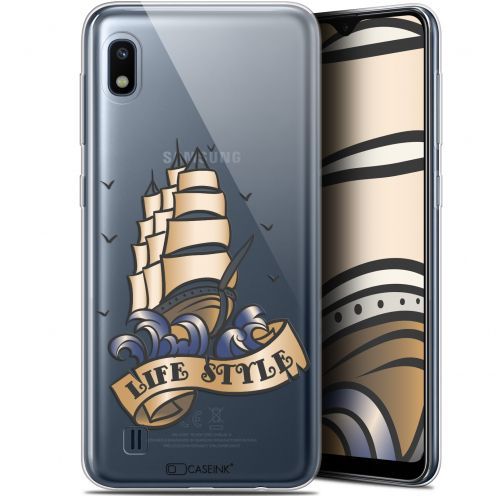"Carcasa Gel Extra Fina Samsung Galaxy A10 (6.2"") Tatoo Lover Fashion"