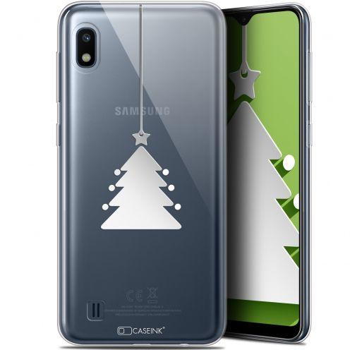 "Carcasa Gel Extra Fina Samsung Galaxy A10 (6.2"") Noël 2017 Petit Arbre"
