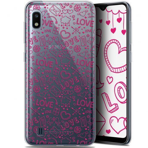 "Carcasa Gel Extra Fina Samsung Galaxy A10 (6.2"") Love Doodle"