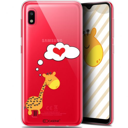 "Carcasa Gel Extra Fina Samsung Galaxy A10 (6.2"") Love Girafe Amoureuse"