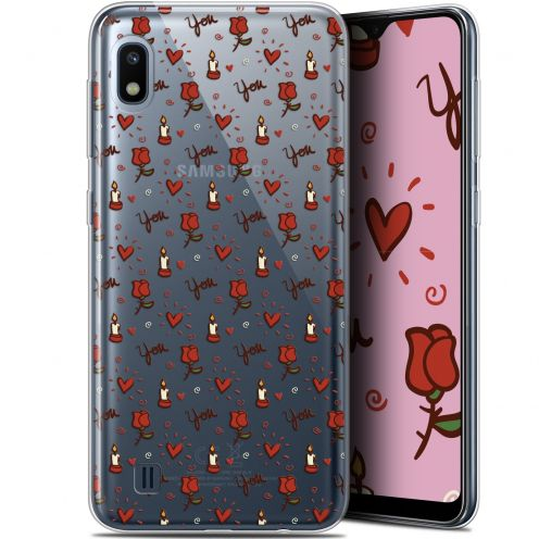 "Carcasa Gel Extra Fina Samsung Galaxy A10 (6.2"") Love Bougies et Roses"