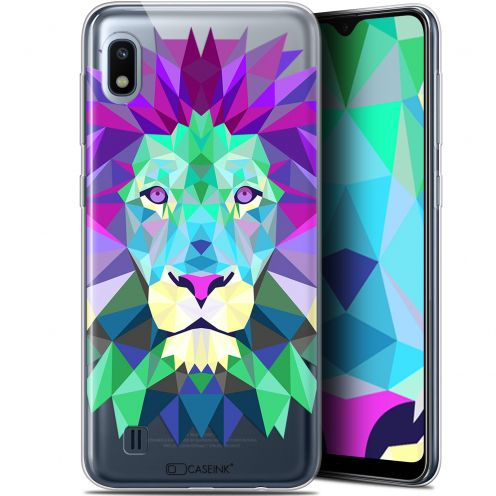 "Carcasa Gel Extra Fina Samsung Galaxy A10 (6.2"") Polygon Animals León"