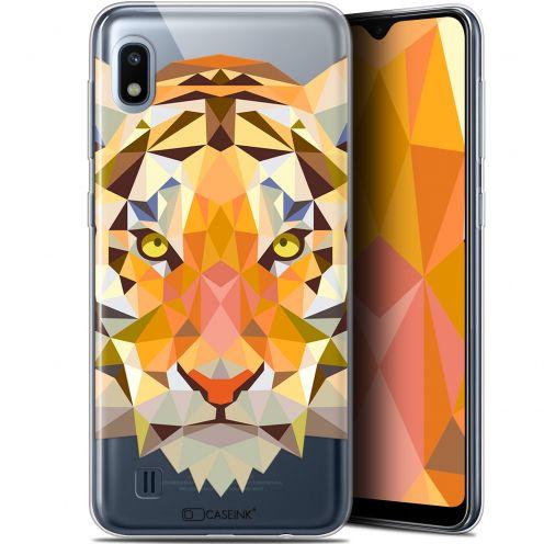 "Carcasa Gel Extra Fina Samsung Galaxy A10 (6.2"") Polygon Animals Tigre"