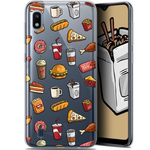 """Carcasa Gel Extra Fina Samsung Galaxy A10 (6.2"""") Foodie Fast Food"""