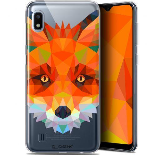 "Carcasa Gel Extra Fina Samsung Galaxy A10 (6.2"") Polygon Animals Zorro"