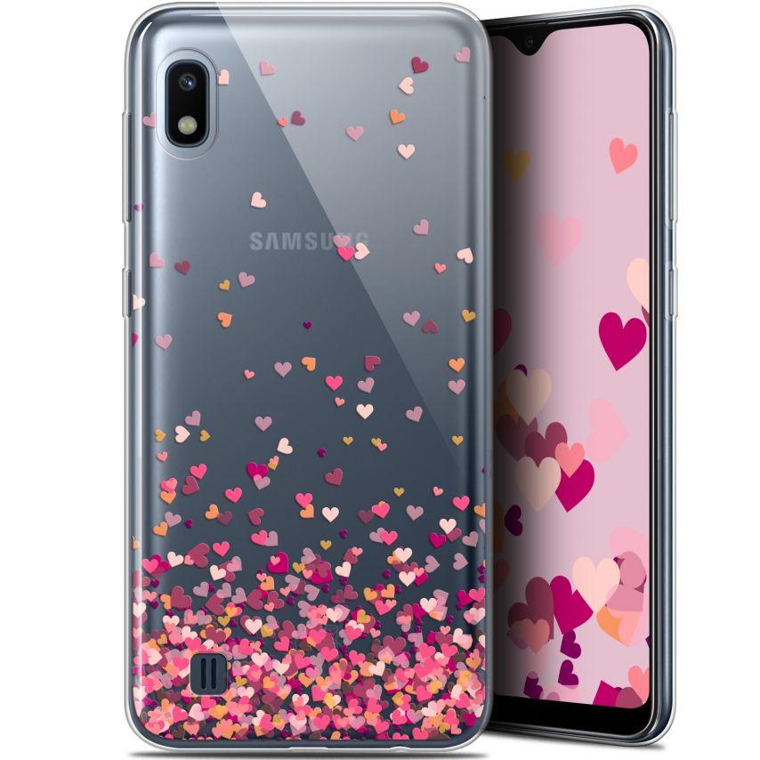 "Carcasa Gel Extra Fina Samsung Galaxy A10 (6.2"") Sweetie Heart Flakes"