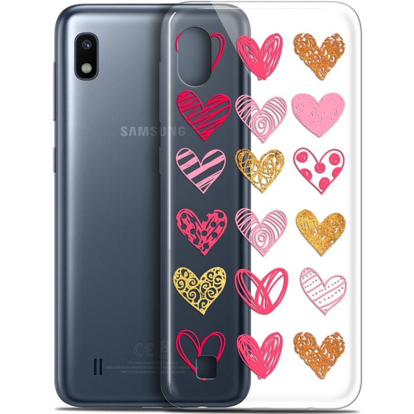 "Carcasa Gel Extra Fina Samsung Galaxy A10 (6.2"") Sweetie Doodling Hearts"