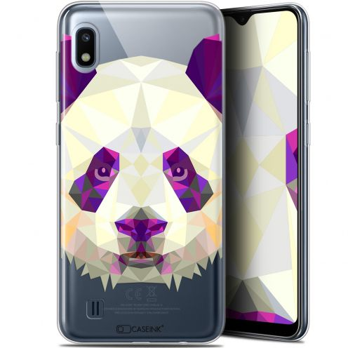 "Carcasa Gel Extra Fina Samsung Galaxy A10 (6.2"") Polygon Animals Panda"