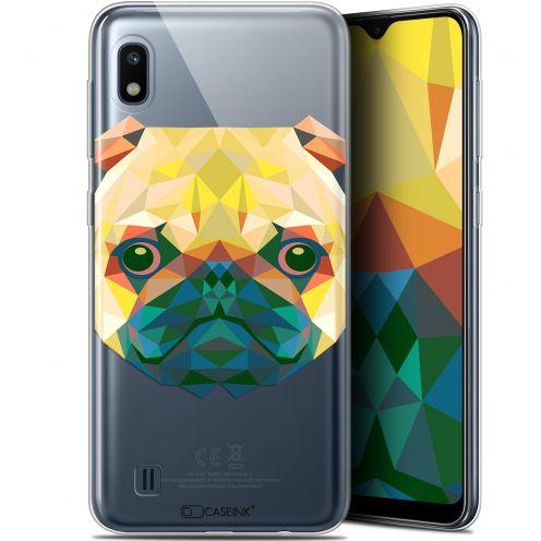 "Carcasa Gel Extra Fina Samsung Galaxy A10 (6.2"") Polygon Animals Perro"